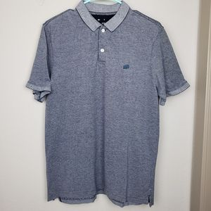 Banana Republic mens gray polo shirt size large